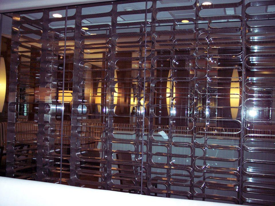 Custom Stainless Steel Wine Rack Central Sheet Metal