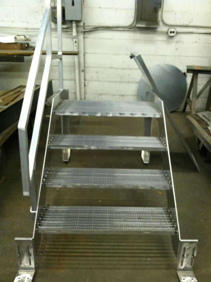 Railing Powder Coated Interior 2 besides Juliette Balcony Railing Fabrication And Installation In Woking Surrey moreover Alluminum Stairs furthermore 89105 as well Stairs Railings Ladders And Platforms. on aluminum stair fabricators