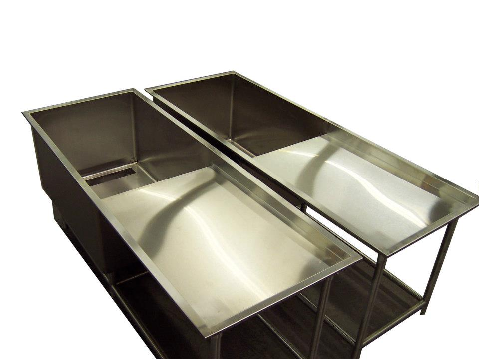 Stainless Steel Sinks | Central Sheet Metal Fabricators Inc.