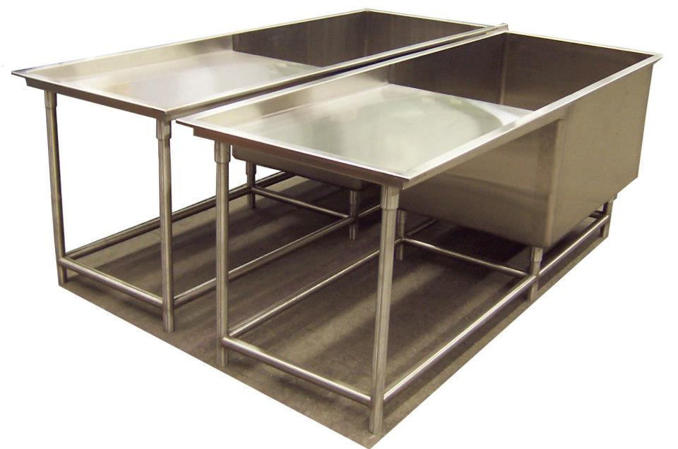 Stainless Steel Sinks | Central Sheet Metal Fabricators Inc.